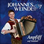 Johannes Weindl - Anpfiff auf Sommer (CD Cover)